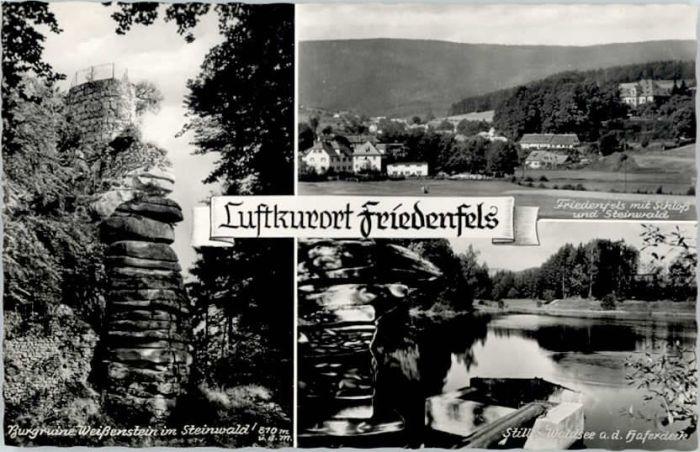 Friedenfels Friedenfels  * / Friedenfels /Tirschenreuth LKR
