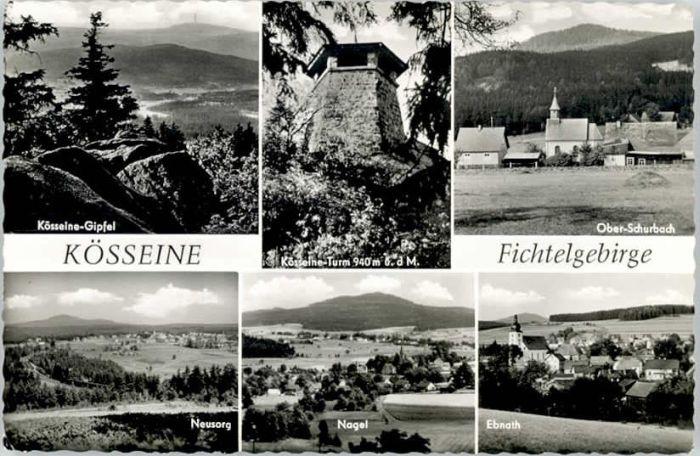 Wunsiedel Wunsiedel Fichtelgebirge Koesseine Schurbach * / Wunsiedel /Wunsiedel LKR
