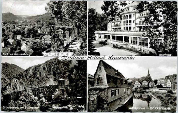 Bad Kreuznach Bad Kreuznach Kauzenburg Gradierwerk x / Bad Kreuznach /Bad Kreuznach LKR