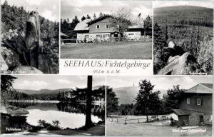 Seehaus Fichtelgebirge Seehaus Fichtelgebirge Fichtelsee Ochsenkopf Schneeberg * / Troestau /Wunsiedel LKR