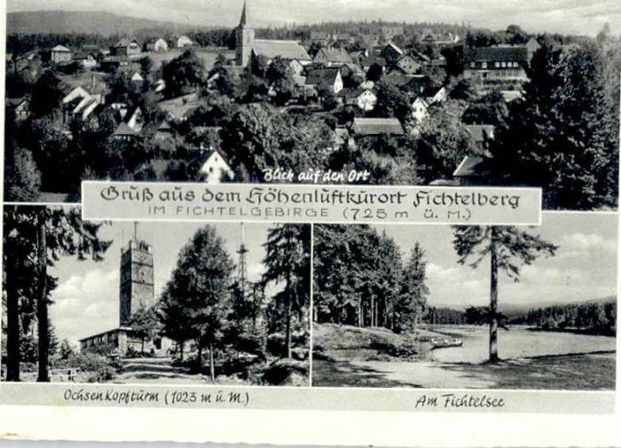 Fichtelberg Bayreuth Fichtelberg Ochsenkopfturm Fichtelsee x / Fichtelberg /Bayreuth LKR