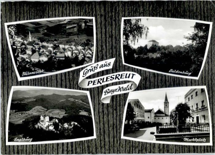 Perlesreut Perlesreut Englburg Marktplatz Saldenburg x / Perlesreut /Freyung-Grafenau LKR