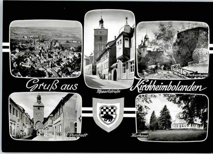 Kirchheimbolanden Kirchheimbolanden Mozartstrasse Pulverturm * / Kirchheimbolanden /Donnersbergkreis LKR