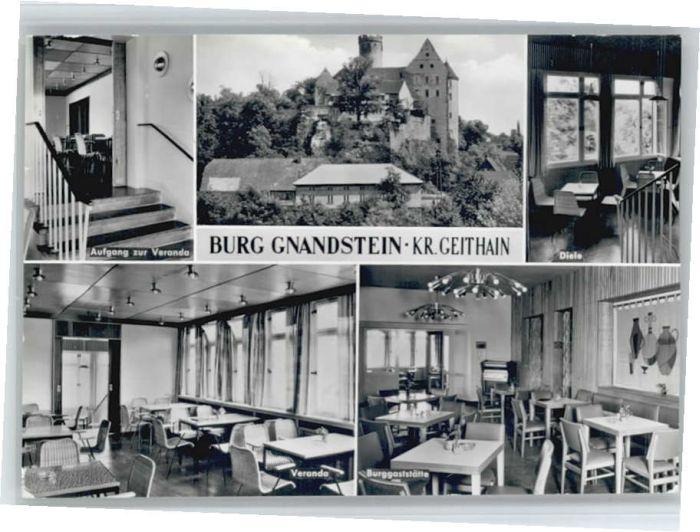 Geithain Geithain Burg Gnandstein x / Geithain /Leipzig LKR