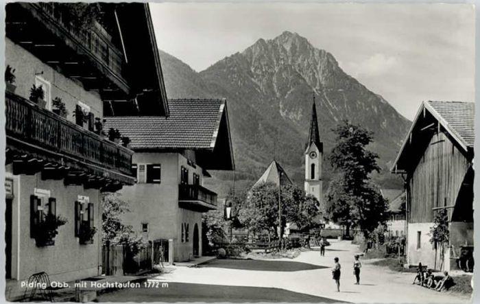 Piding Piding Hochstaufen x / Piding /Berchtesgadener Land LKR