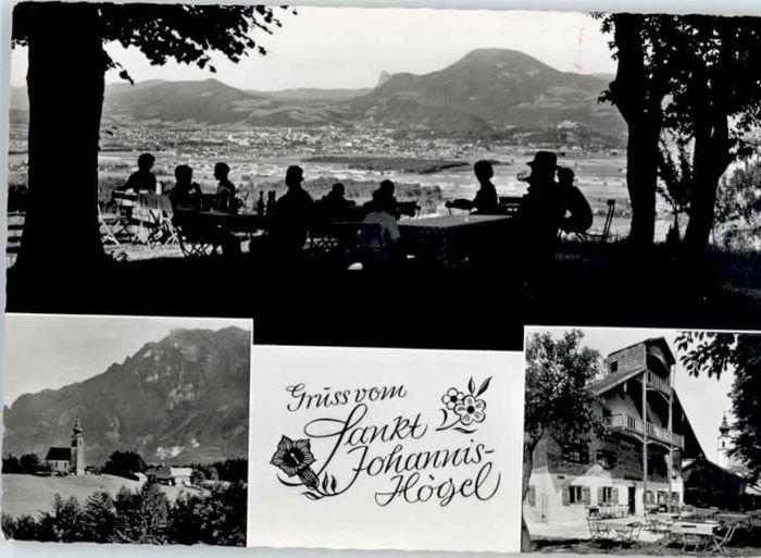 Piding Piding Gasthaus St Johannis Huegel * / Piding /Berchtesgadener Land LKR