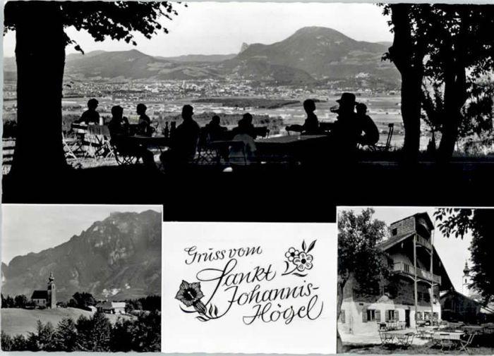 Piding Piding Gasthaus St Johannis Hoegel * / Piding /Berchtesgadener Land LKR