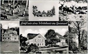 Rohrbrunn Rohrbrunn Wirtshaus Spessart Hauffs Maedchen * / Weibersbrunn /Aschaffenburg LKR