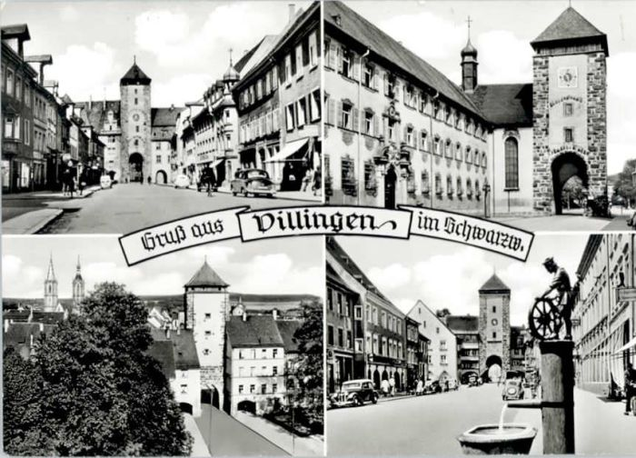 Villingen-Schwenningen Villingen-Schwenningen  x / Villingen-Schwenningen /Schwarzwald-Baar-Kreis LKR