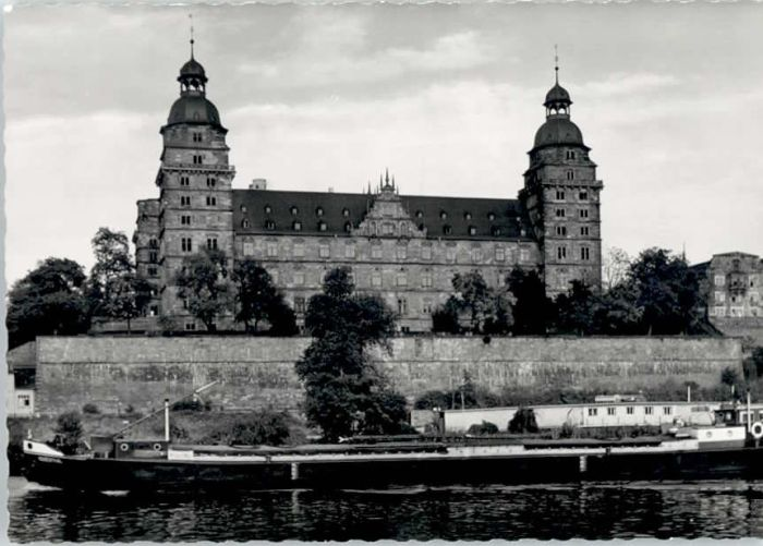 Aschaffenburg Main Aschaffenburg Schloss Johannisburg * / Aschaffenburg /Aschaffenburg LKR