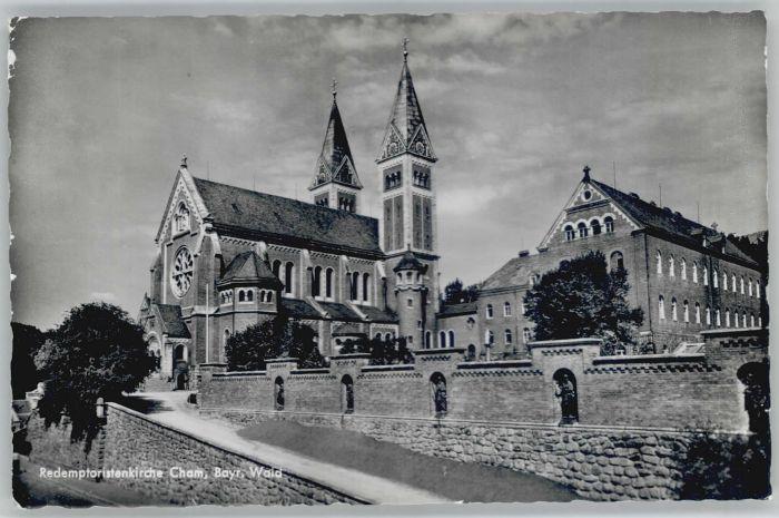 Cham Oberpfalz Cham Redemptoristenkirche x / Cham /Cham LKR