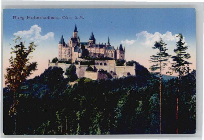 Burg Hohenzollern Burg Hohenzollern  * / Bisingen /Zollernalbkreis LKR
