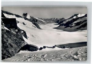 Jungfraujoch Jungfraujoch Berghaus Aletschgletscher * / Jungfrau /Rg. Finsteraarhorn