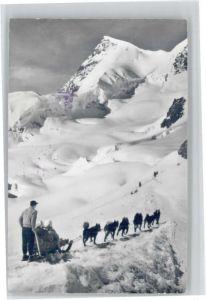Jungfraujoch Jungfraujoch Rottalhorn Polarhunde x / Jungfrau /Rg. Finsteraarhorn