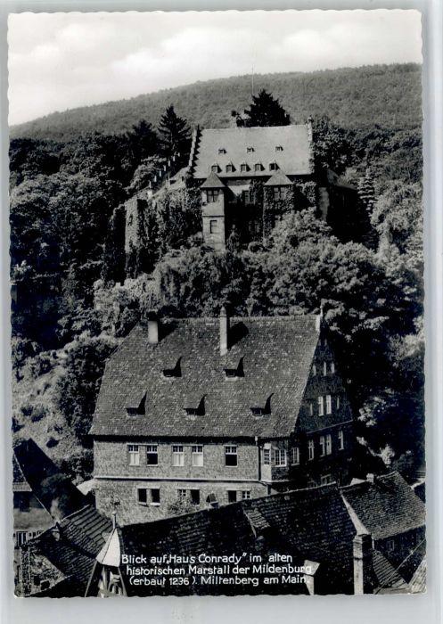 Miltenberg Main Miltenberg Haus Conrady Marstall * / Miltenberg /Miltenberg LKR