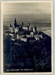 Burg Hohenzollern Burg Hohenzollern Fliegeraufnahme * / Bisingen /Zollernalbkreis LKR