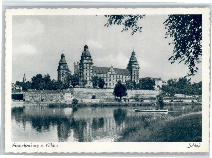 Aschaffenburg Main Aschaffenburg Schloss * / Aschaffenburg /Aschaffenburg LKR