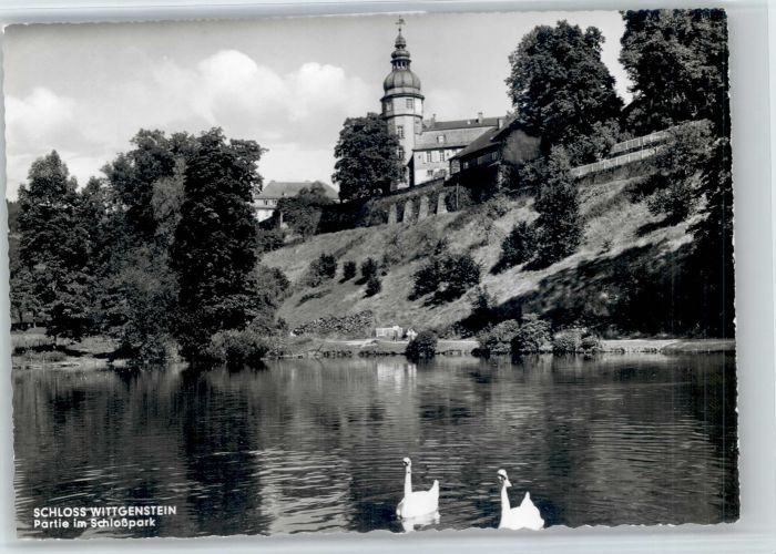 Bad Berleburg Bad Berleburg Schloss Wittgenstein  * / Bad Berleburg /Siegen-Wittgenstein LKR