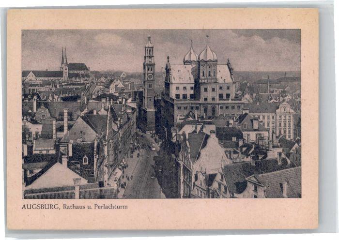 Augsburg Augsburg Rathaus Perlachturm * / Augsburg /Augsburg LKR