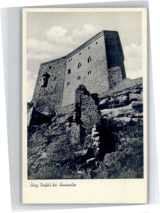 Annweiler Trifels Annweiler Trifels Burg * / Annweiler am Trifels /Suedliche Weinstrasse LKR