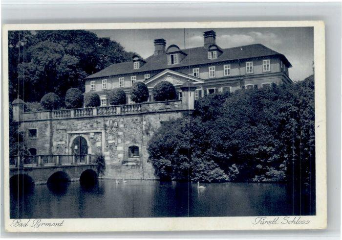 Bad Pyrmont Bad Pyrmont Schloss * / Bad Pyrmont /Hameln-Pyrmont LKR