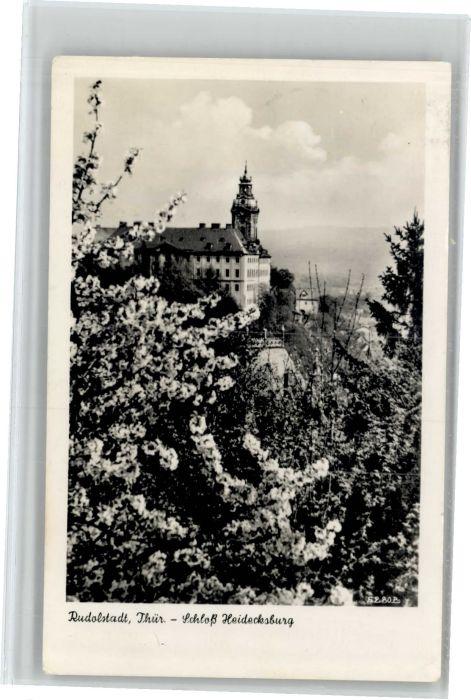 Rudolstadt Rudolstadt Schloss Heidecksburg x / Rudolstadt /Saalfeld-Rudolstadt LKR