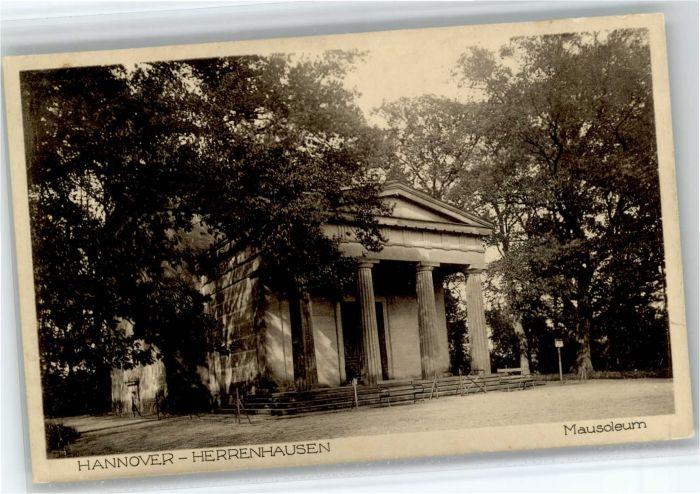 Herrenhausen Hannover Herrenhausen Hannover Mausoleum * / Hannover /Region Hannover LKR