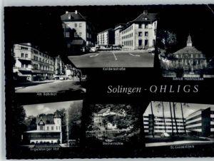 Ohligs Ohligs Keldersstrasse Schloss Hackhausen Bahnhof Engelsberger Hof Bechermuehle St Lucas Klinik x / Solingen /Solingen Stadtkreis