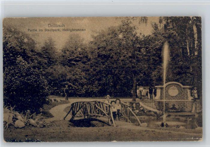 Delitzsch Delitzsch Stadtpark Heiligbrunnen x / Delitzsch /Nordsachsen LKR