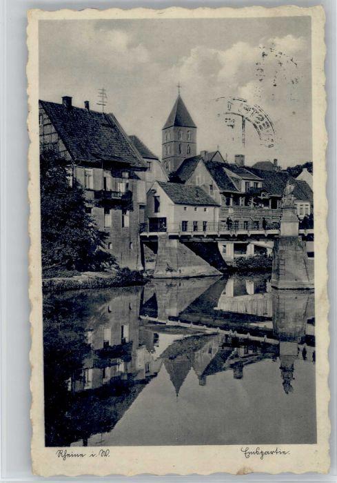 Rheine Rheine Bruecke x / Rheine /Steinfurt LKR
