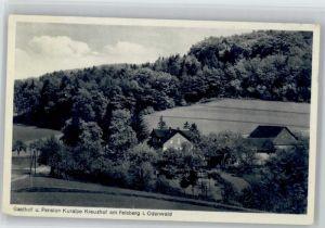 Felsberg Hessen Felsberg Gasthof Pension Kuralpe Kreuzhof x / Felsberg /Schwalm-Eder-Kreis LKR