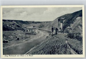 Beilstein Mosel Beilstein Mosel Burg Metternich * / Beilstein /Cochem-Zell LKR