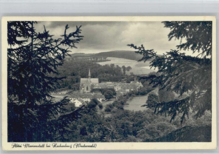 Hachenburg Westerwald Hachenburg Abtei Marienstatt X