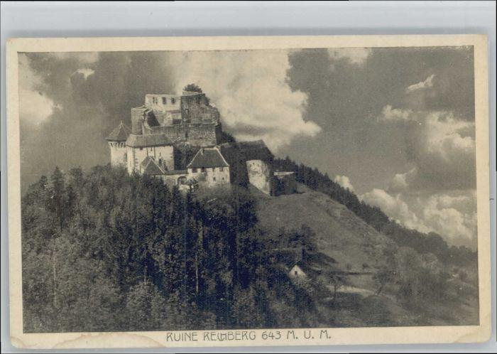 Rechberg Schwaebisch Gmuend Rechberg Schwaebisch Gmuend Ruine Rechberg * / Schwaebisch Gmuend /Ostalbkreis LKR