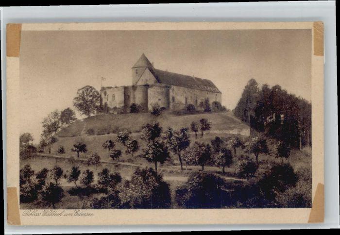 Edersee Edersee Schloss Waldeck * / Edertal /Waldeck-Frankenberg LKR