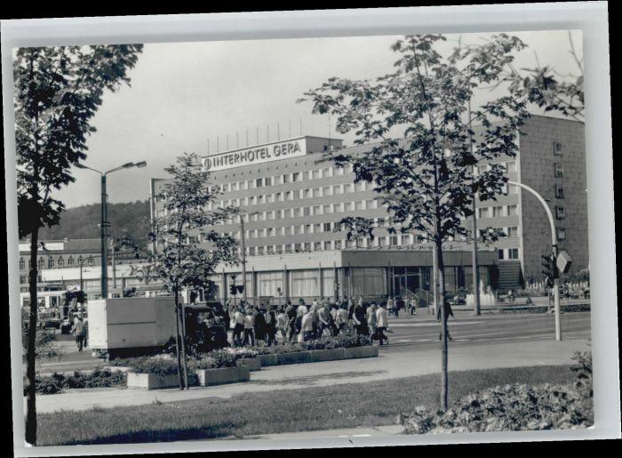 Gera Gera Interhotel   * / Gera /Gera Stadtkreis