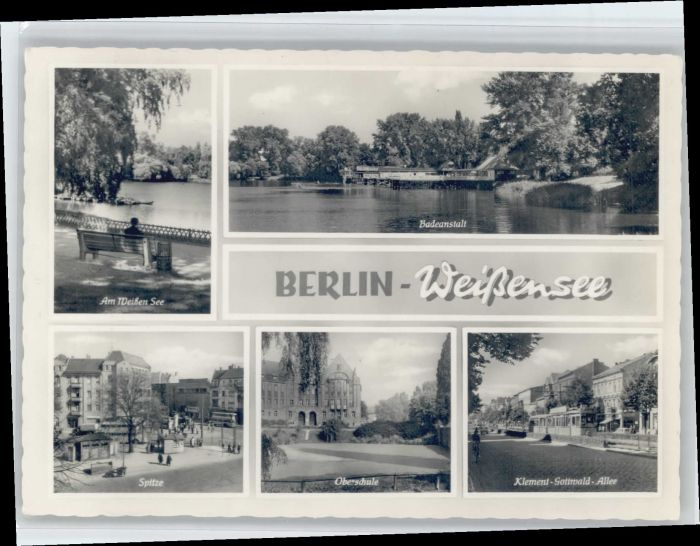 Berlin Berlin Weissensee * / Berlin /Berlin Stadtkreis