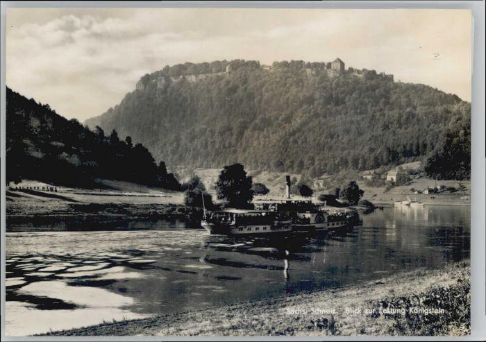 Koenigstein Saechsische Schweiz Koenigstein Saechsische Schweiz Festung * / Koenigstein Saechsische Schweiz /Saechsische Schweiz-Osterzgebirge LKR