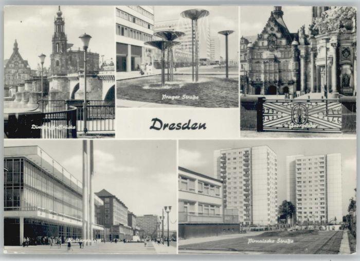 Dresden Dresden Prager Strasse Pirnaische Strasse x / Dresden Elbe /Dresden Stadtkreis