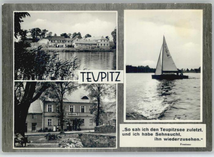 Teupitz Teupitz Teupitzsee x / Teupitz /Dahme-Spreewald LKR