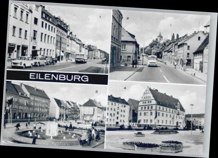 Eilenburg Eilenburg Leipziger Strasse Bergstrasse Markt * / Eilenburg /Nordsachsen LKR