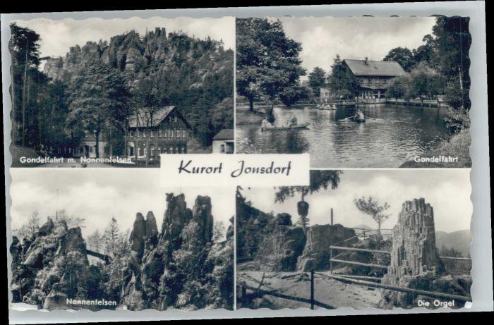 Jonsdorf Jonsdorf Nonnenfelsen x / Kurort Jonsdorf /Goerlitz LKR