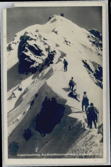 Zugspitze Zugspitze Am Grat x / Garmisch-Partenkirchen /Garmisch-Partenkirchen LKR