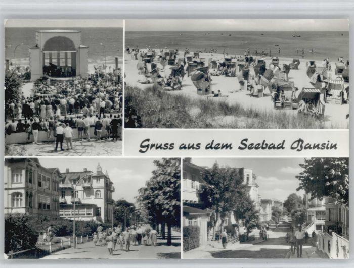 Bansin Ostseebad Bansin  * / Heringsdorf /Ostvorpommern LKR