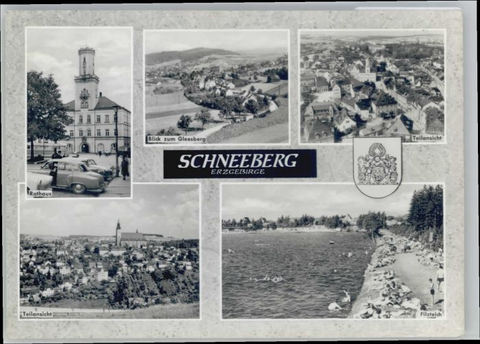 Schneeberg Erzgebirge Schneeberg Gleesberg Filzteich x / Schneeberg /Erzgebirgskreis LKR