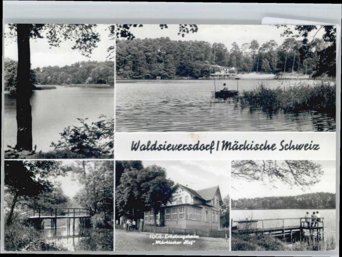 Waldsieversdorf Waldsieversdorf Erholungsheim Maerkischer Hof x / Waldsieversdorf /Maerkisch-Oderland LKR