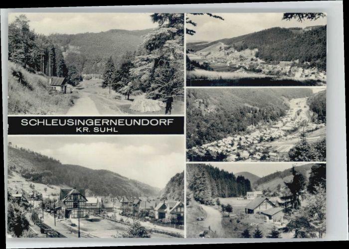 Suhl Thueringer Wald Suhl Schleusingerneundorf x / Suhl /Suhl Stadtkreis