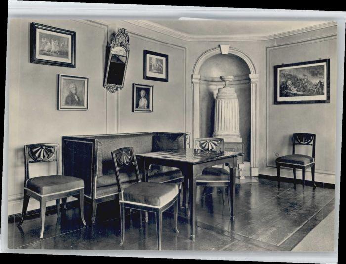 Weimar Thueringen Weimar Schillerhaus * / Weimar /Weimar Stadtkreis