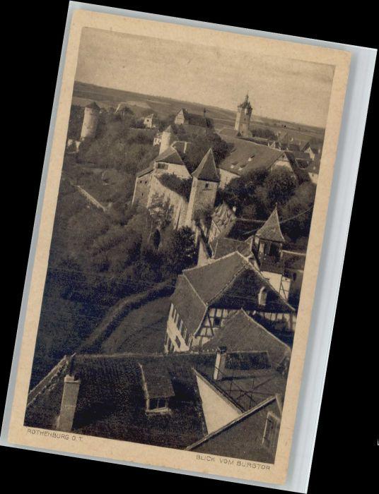 Rothenburg Tauber Rothenburg Tauber  * / Rothenburg ob der Tauber /Ansbach LKR