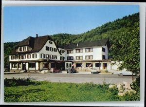 Huzenbach Huzenbach Hotel Cafe Baeren * / Baiersbronn /Freudenstadt LKR